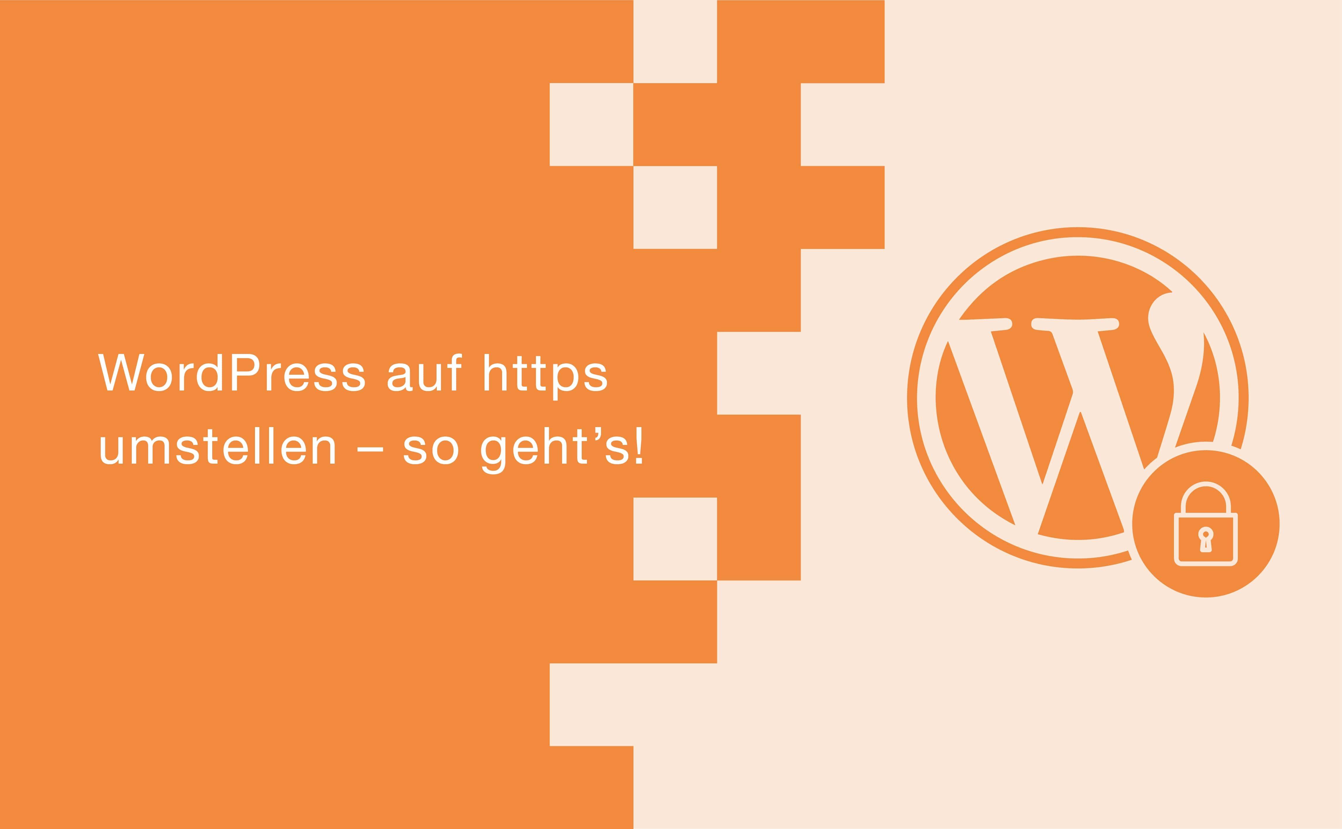 WordPress auf https umstellen – so geht's!